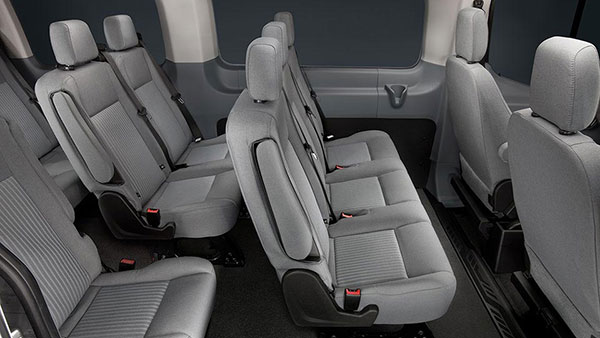 THINKLimo Premium Ford Transit Van Interior