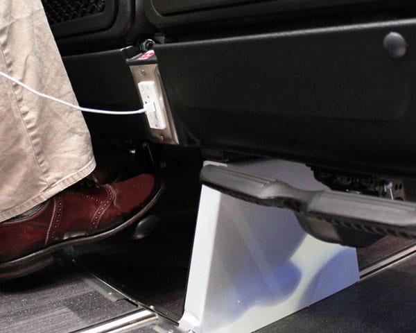 THINKLimo Luxury Motor Coach Interior