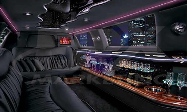 THINKLimo Premium Limo Interior
